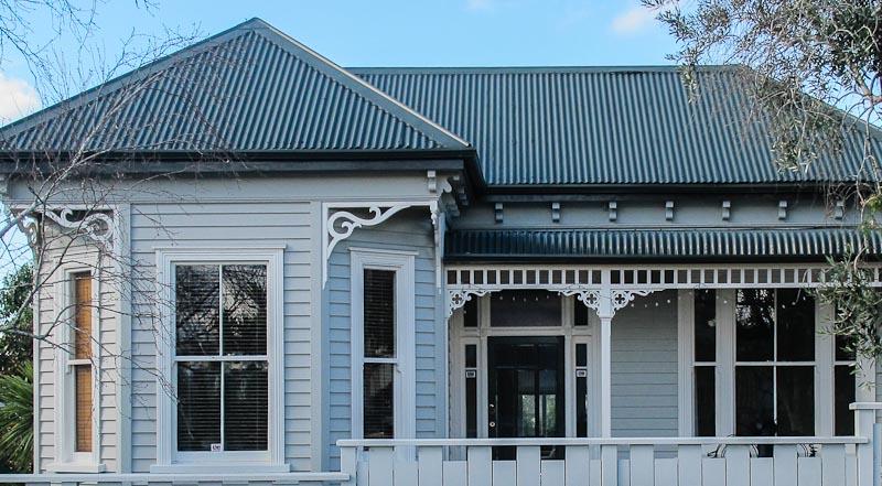 Restored villa